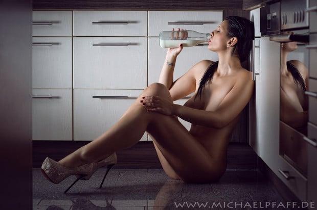 Fotograf Michael Pfaff und Model Kristina