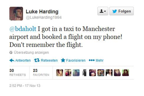 Luke Harding - Partynacht endet in Paris