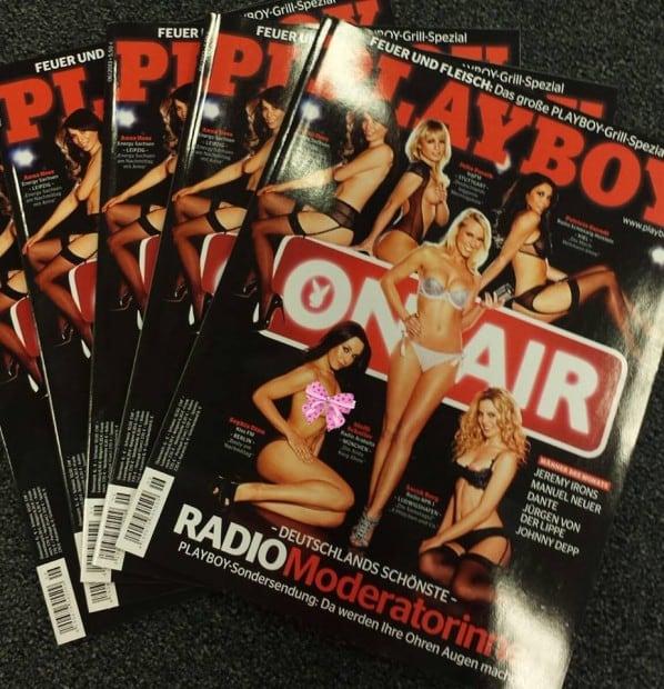 Sophia Dinu im Playboy