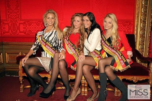 Juliane Seyffert bei der Miss Germany Wahl