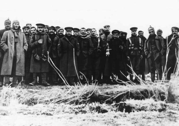 Weihnachtsfrieden - Erster Weltkrieg 1914