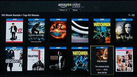 Amazon Video on Demand