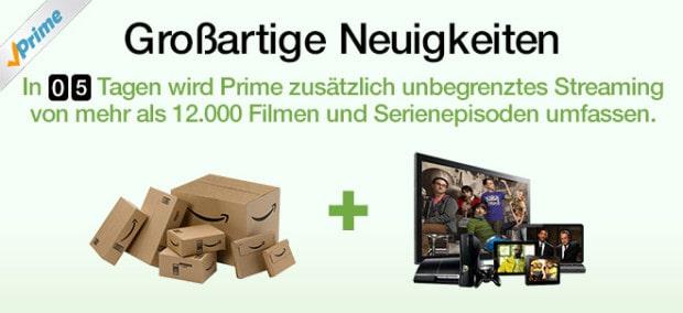 Amazon Prime Videodienst