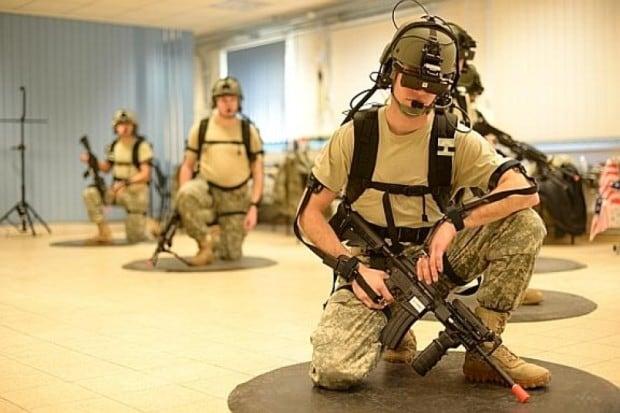 Wie Soldaten vor Einsätzen und zur Trauma-Bewältigung mit Kriegsspielen trainieren