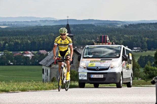 Manuel Geyer sucht die extreme Herausforderung auf dem Rennrad