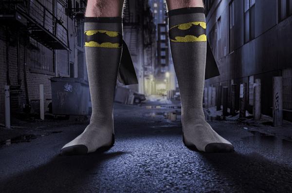 Echte Superhelden Socken