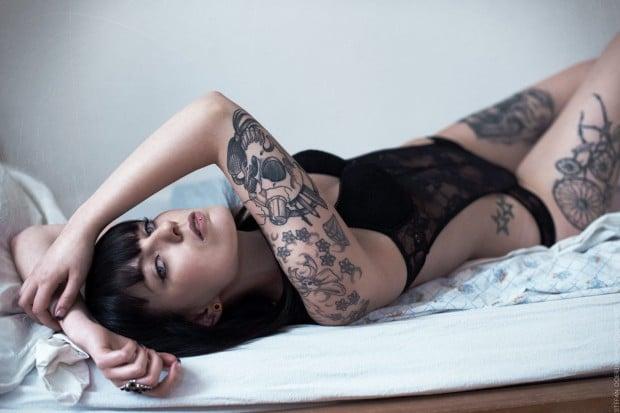 Tattoomodel Rockkrissy