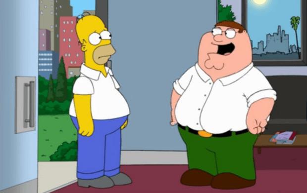 Serien-Crossover: Die Simspons treffen auf Family Guy