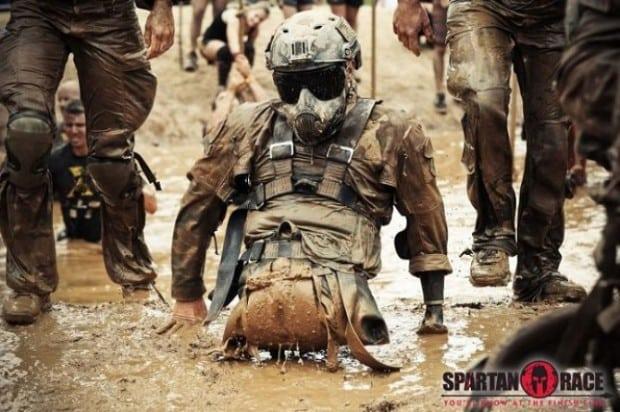 Unbändiger Wille - Spartan Race Teilnehmer Todd Love, verlor beide Beine und einen Arm im Afghanistan Einsatz 2010