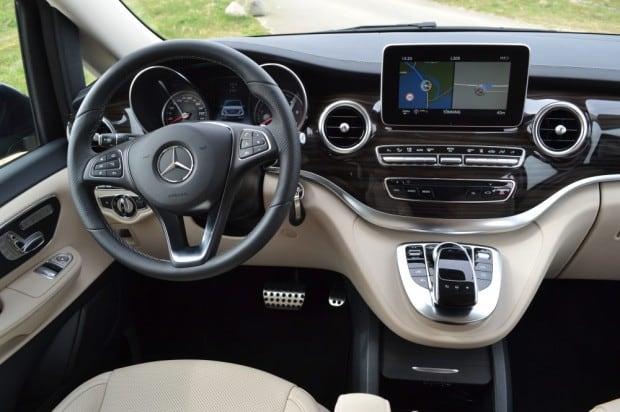 Die V Klasse Von Mercedes Komfort Und Luxus In Kleinbus