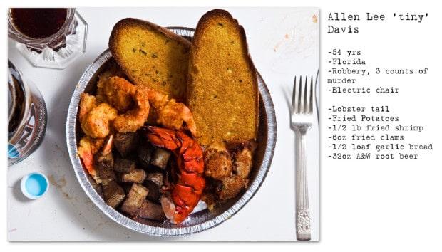 Henkersmahlzeiten - Von der einzelnen Olive bis hin zum Steak