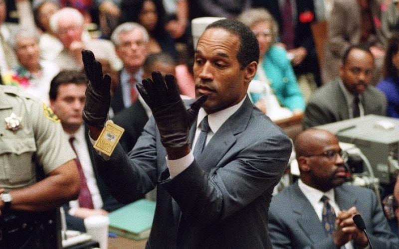 Oj Simpson Handschuh
