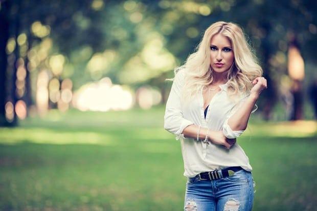 Model Madeline Flier