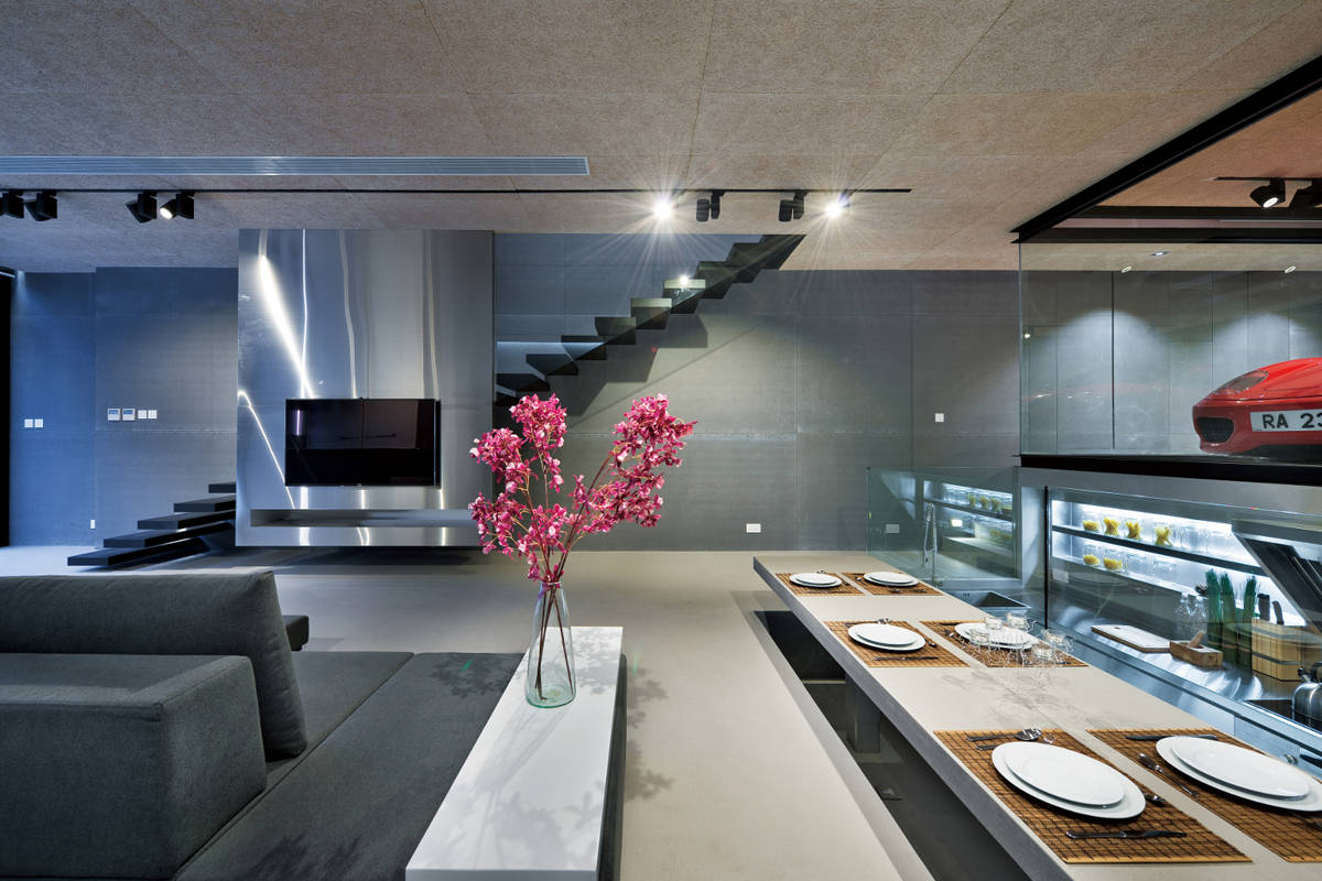 Sai kung house modern wohnen in hongkong - Wohnzimmer modern luxus ...