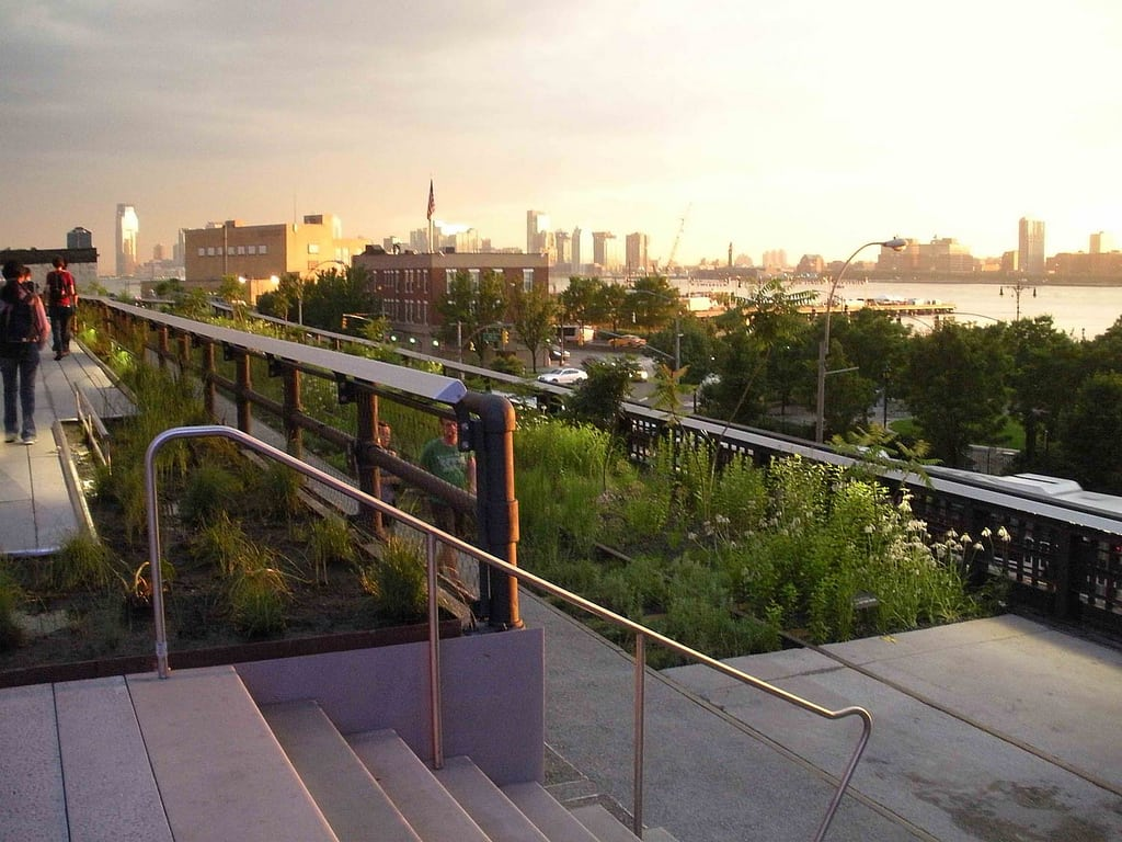 high line park die neue gr ne oase in new york. Black Bedroom Furniture Sets. Home Design Ideas