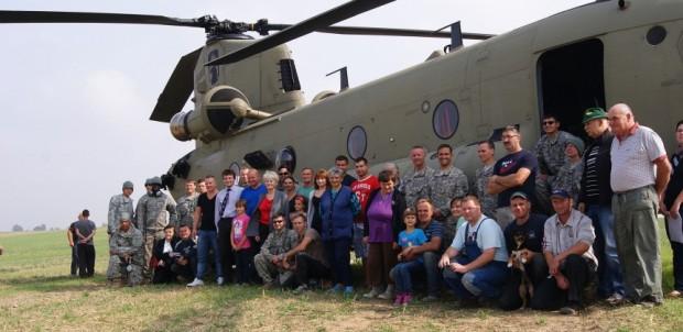 US-Hubschrauber in Polen - Orientierungslos auf dem Rapsfeld