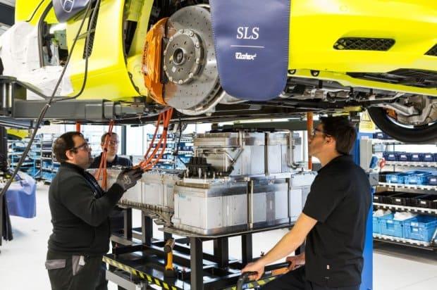Mercedes SLS Electric Drive / 2013