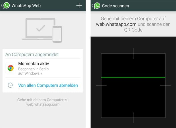 WhatsApp nun auch als Web-Version