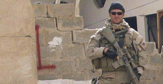 Handout photo of former Navy Seals Sniper Chris Kyle