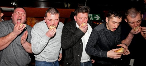 World Pie Eating Championship 2014