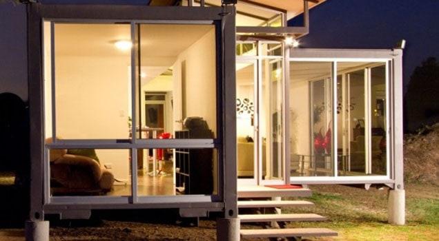 Modern und edel in einem Container wohnen