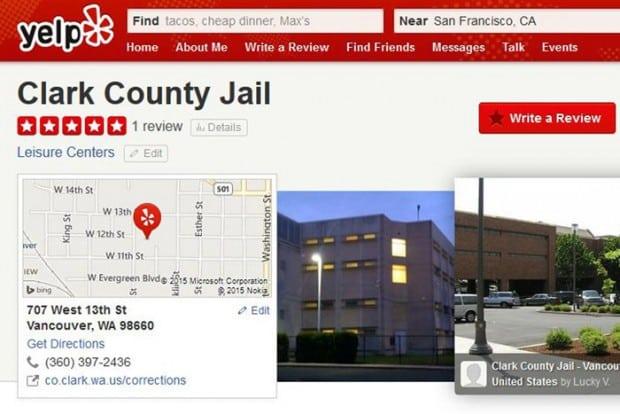 Ex-Häftling bewertet Gefängnis auf Yelp