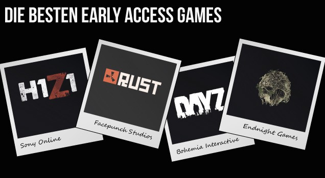 Die besten Early Access Games