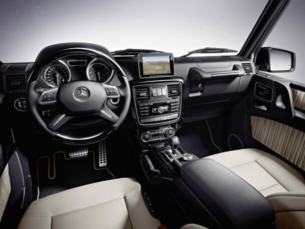 Faszination Mercedes Benz G-Klasse