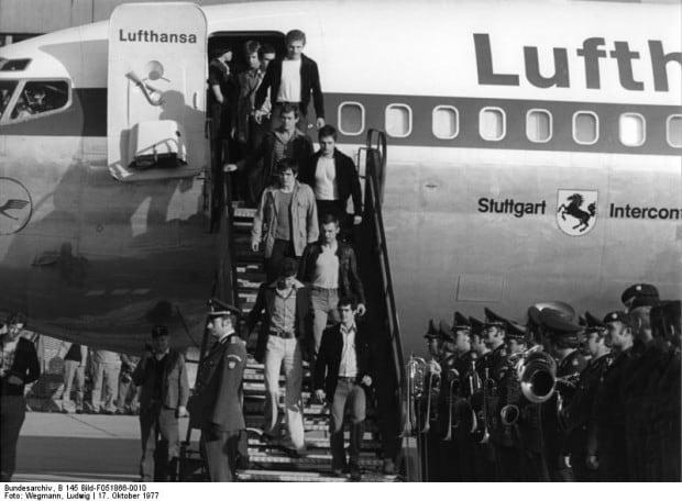 """Landshut""-Entführung, Rückkehr GSG 9"