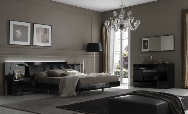 das ideale schlafzimmer f r m nner. Black Bedroom Furniture Sets. Home Design Ideas