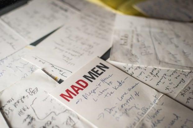 Mad Men / Matthew Weiners notes