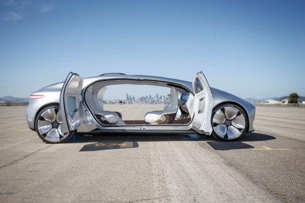Der Mercedes F015 - Das Auto der Zukunft