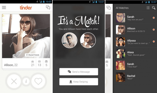 Bild: Auch mit der Dating-App Lovoo lässt sich richtig Spaß haben ...
