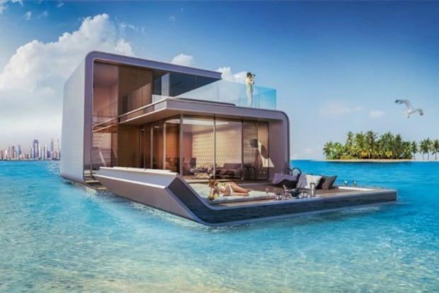 Wohnen Auf Dem Luxus-Hausboot - Mit Unterwasserblick
