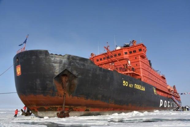 Auf dem «Dach der Erde» - Mit dem Atomeisbrecher zum Nordpol