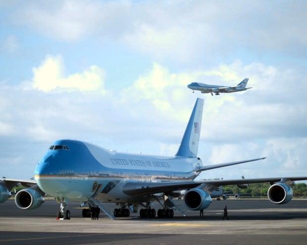 Die Air Force One - das wohl sicherste Flugzeug der Welt