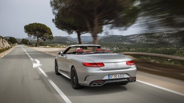 The new S-Class Cabriolet Press Test Drive, Cap-Ferrat 2016