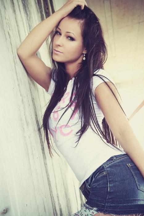 Melisa Mendini das Model aus Tschechien
