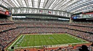 Der Austragungsort: Das 'NRG Stadium' in Houston,
