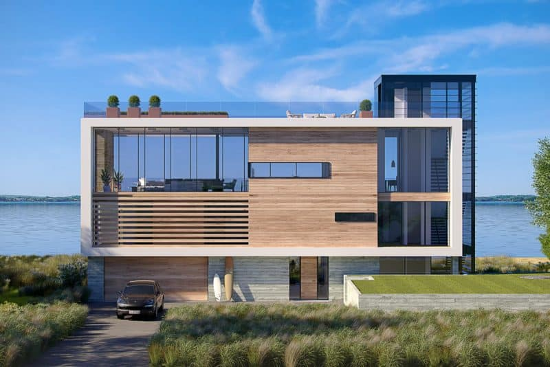 Dune Road Villa in Bridgehampton